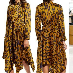 Moon River Leopard Dress